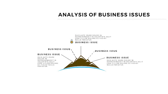 Infographic Analysis of Business Issues Free PowerPoint Template Slide 3