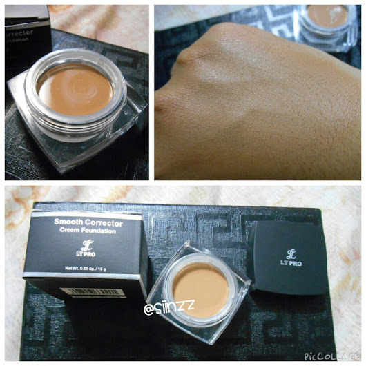 Me, Myself and Sinz: LTPro Smooth Corrector Cream Foundation (Review)
