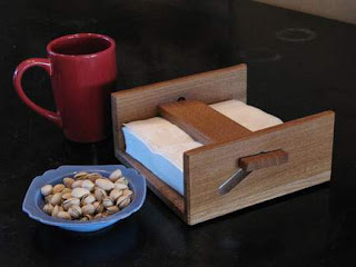 DIY Wooden Napkin Holder