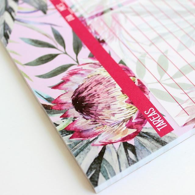 planificador diario papelería bonita hermanas bolena