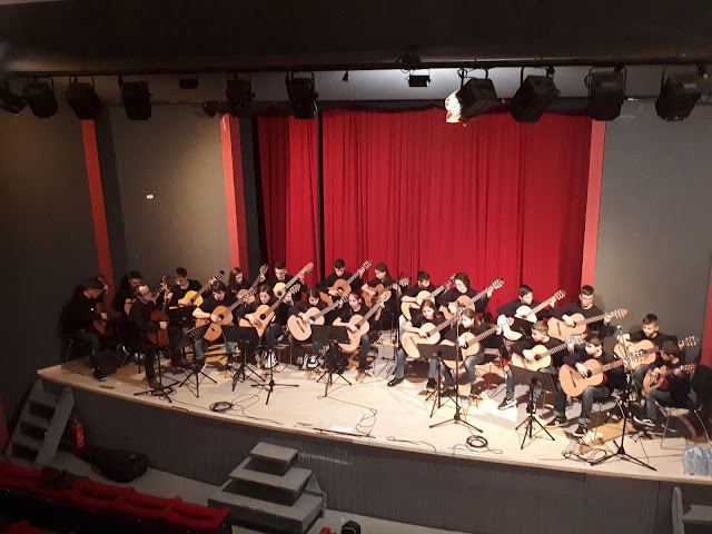 Εντυπωσιακή η Κιθαριστική Ορχήστρα Λαμίας, στo Φεστιβάλ Κιθάρας της Αττικής