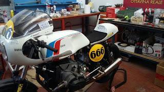 Kit BMW Cafe racer, serbatoio BMW, R45, R65, R80, R100, serbatoio Magni, cupolino BMW R90 S, Sella Magni, Telaietto posteriore BMW