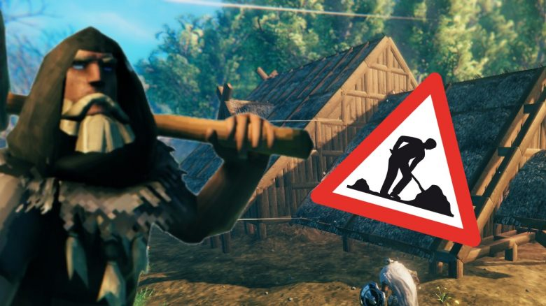 With these tips you can build large houses in Valheim right from the start