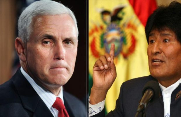 """Evo Morales: quien hace """"abuso de poder"""" no es Caracas, sino EEUU."""