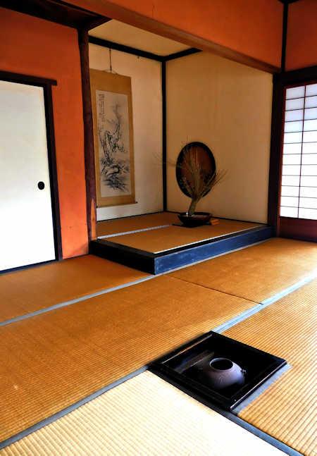 Irori and tokonoma