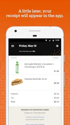 Screenshot Amazon Go