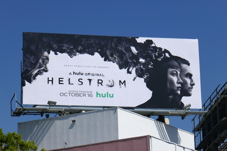 Helstrom series launch billboard