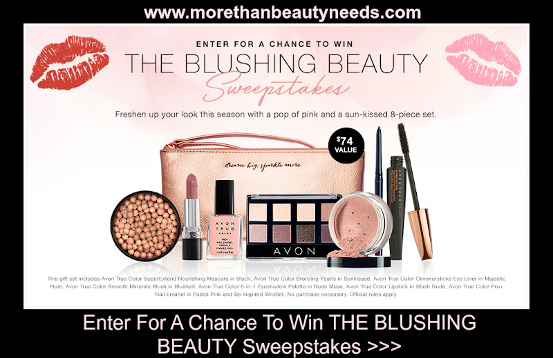 Enter For A Chance To Win THE BLUSHING BEAUTY Sweepstakes