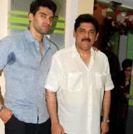 Pankaj Dheer and his son