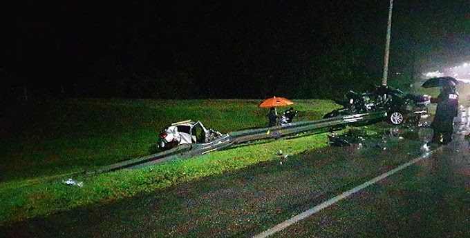 Tragedia - Cinco personas murieron en siniestro de tránsito ocurrido en la madrugada