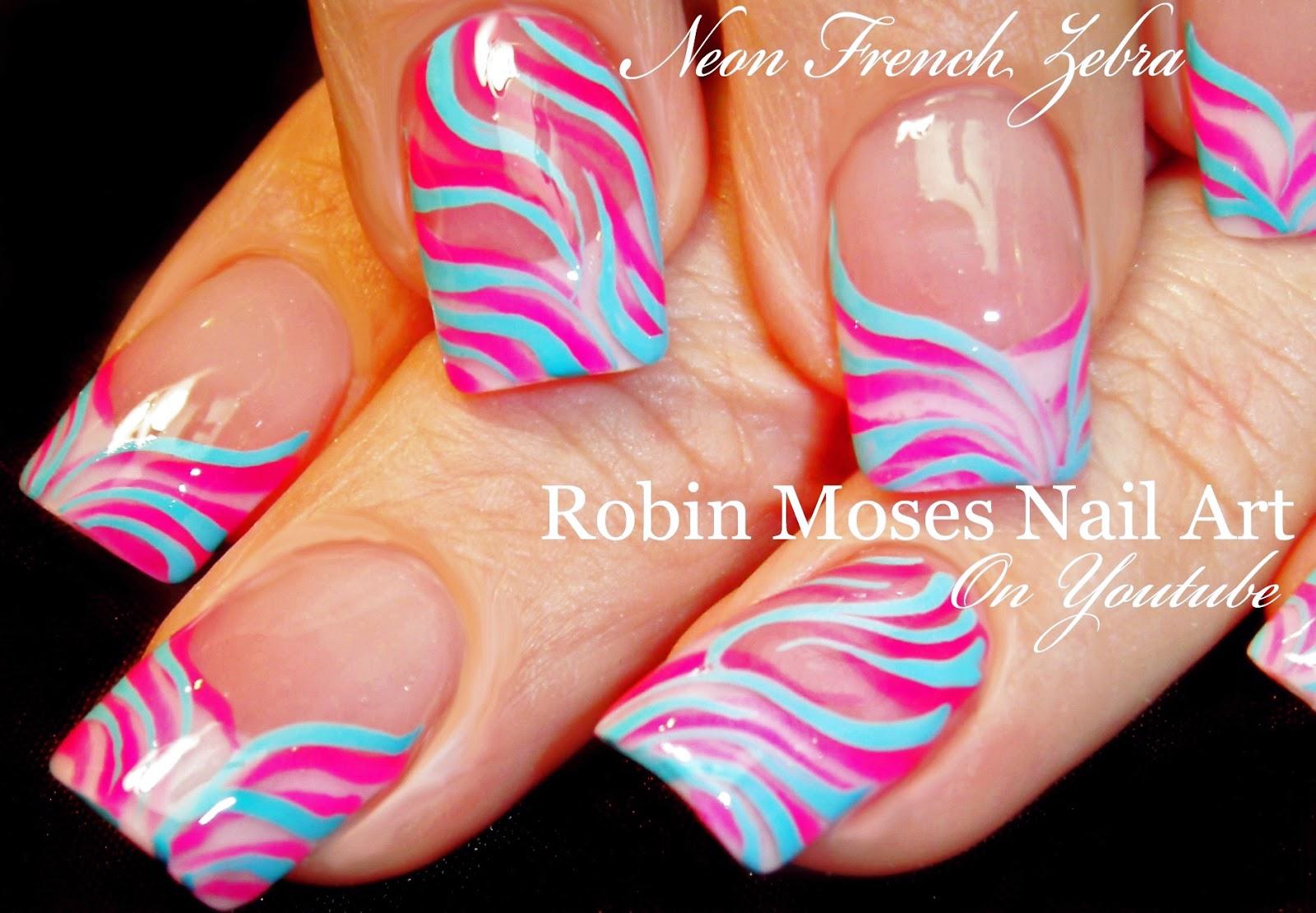 Pink zebra nails nails pinterest - Robin Moses Nail Art Facebook Fanpage Http Www Facebook Com Robinmosesnailart Robin Moses Nail Art Pinterest Http Pinterest Com Robinmoses