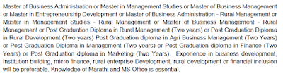 Cluster Level Federation - Consultant Educational Qualification