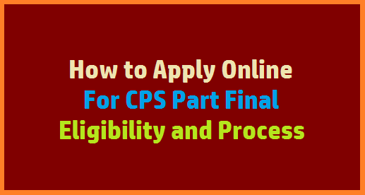 NPS / CPS Subscribers may get Part final as GPF Employees getting now. Know here the process and Eligibility for Partial withdrawal from CPS Deducted amount ( 25% ) from Tier 1. Telangana Govt Released Go MS No 164 Dated 05.10.2018 allowing the emplyees appointed on or after 01.04.2005 under New Pension Scheme called as CPS Contributory Pension Scheme to have CPS Part Final or may called as CPS Partial withdraw up to 25% from deducted amount. Accordingly to GO MS No 164 Treasuries and Accounts Director released certain guidelines on same thing Memo No D1/4082/2018 dated 08.11.2018. ( For AP Employees may have different GO Number and Memo number but Process is same ) how-to-apply-online-cps-part-final-partial-withdrawal-eligibility-process