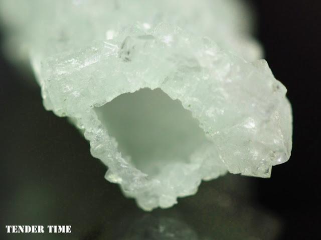 Apophyllite on Prehnite pseudomorphs after Laumontite Bombay Quarry, Mumbai, Maharastra, India