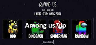 Among us.vip || How to get free skins from among us.vip skins