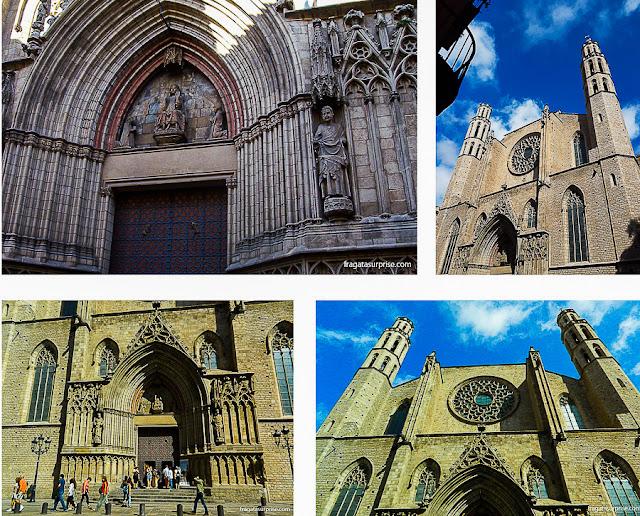 greja Santa Maria del Mar, Barcelona