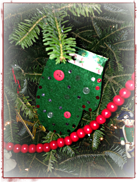 homemade ornaments - my favorite!