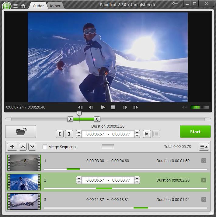 تحميل برنامج Bandicut لتقطيع ودمج الفيديو تحميل برامج