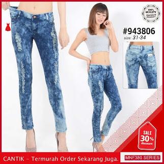 MNF380J174 Jeans 943806 Wanita Panjang Denim Jeans Celana 2019 BMGShop