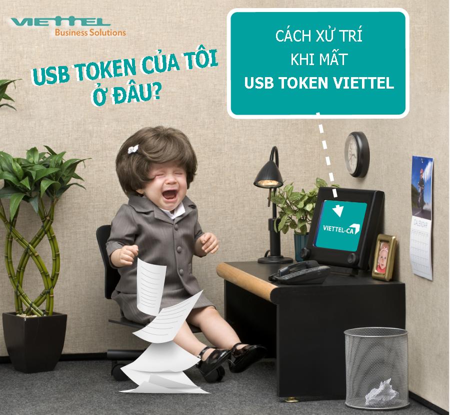 Ảnh minh họa: cách xử lý khi mất USB token chữ ký số Viettel-CA