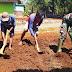 Satgas TMMD Jatiwarno Sulap Lahan Kosong Menjadi Taman Toga