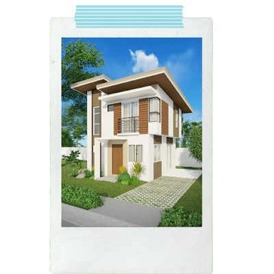 An architect's perspective of the Velmiro Greens Bohol Cenia Model