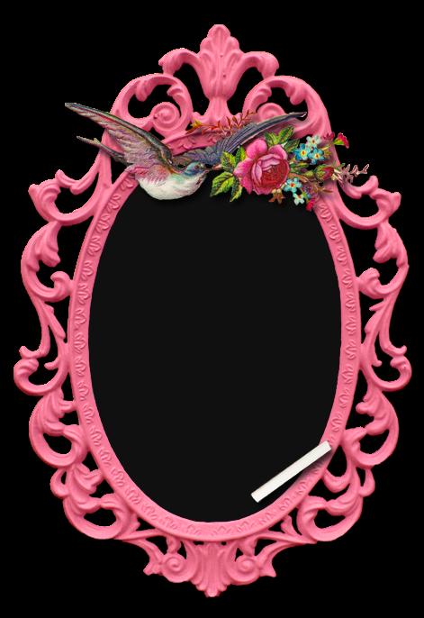 Chalk Transparent Border: ♥Freebie Image: Pretty In Pink Vintage Chalkboard♥