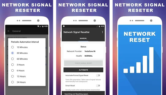 Network Signal Resetter  Network Speed Booster