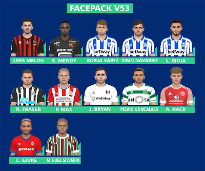 PES 2017 Facepack v53 by FR Facemaker