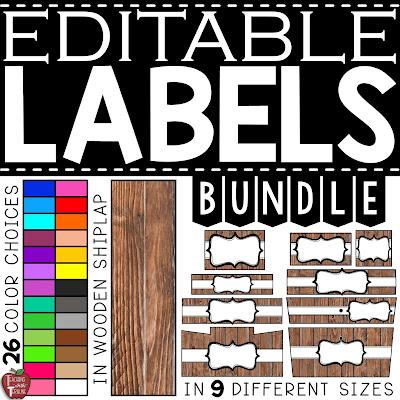Farmhouse Label Bundle
