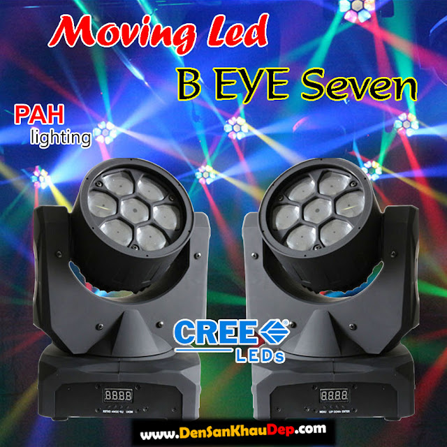 Đèn moving head 7 mắt