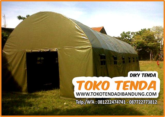 Tenda Oval - Bantuan Sosial - Pengungsi