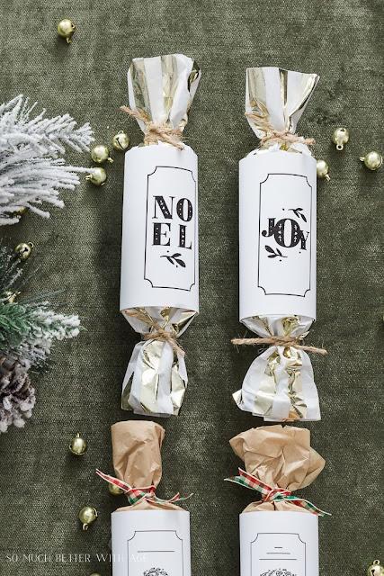 DIY Christmas Crackers