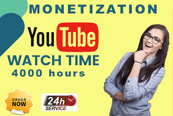 We will provide you fully guranteed Non-drop and Monetizable 1000 Subscribers and 4000 Hours Watch