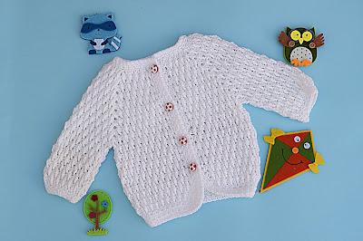 2 - Crochet Imagenes Chaqueta a crochet para niño muy fácil y sencilla por Majovel Crochet.