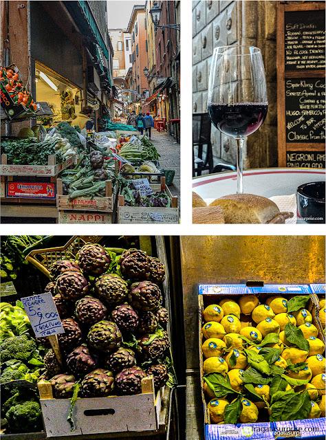 Antigo mercado de hortaliças de Bolonha