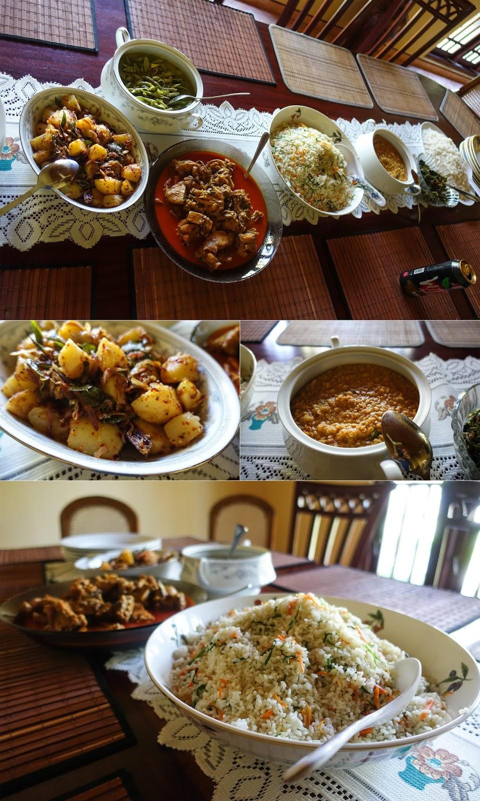 Sinhalese food