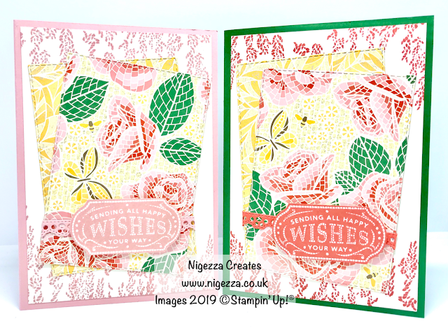 Nigezza Creates, Stampin' Up! Mosaic Mood