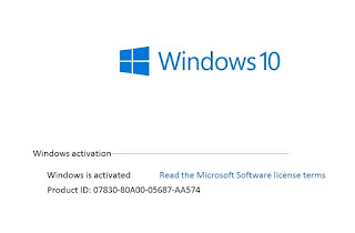 activate windows 10 product key.