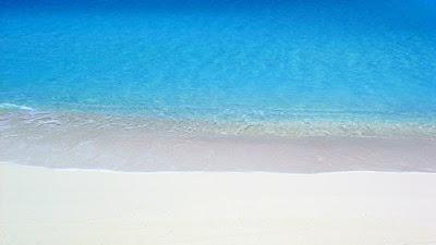 Pristine beach in Inagua