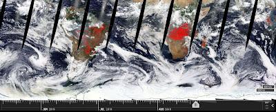 NASA fires and thermal annomalies