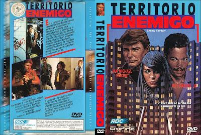 Carátula dvd: Territorio enemigo