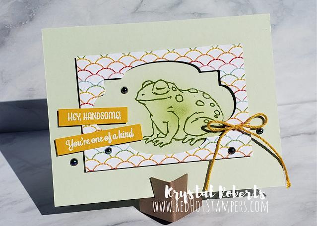 Stampin' Up! Prince & Princess Frog Card