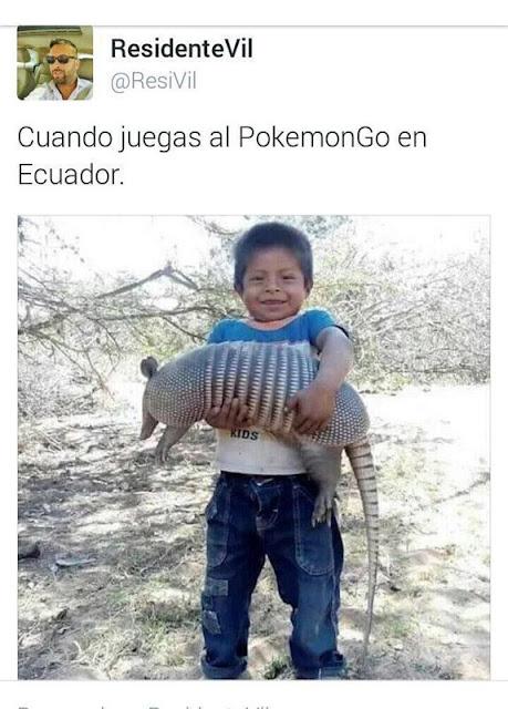 Jugar a pokemon Go en Ecuador