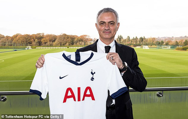Jose Mourinho becomes the second highest-paid manager in the world after his new £15m-a-year deal with Tottenham