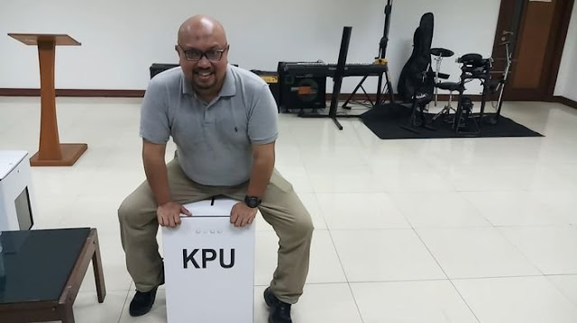 KPU Mengganti Kotak Suara Berbahan Kardus, Warganet Sebut Sudah tak Waras