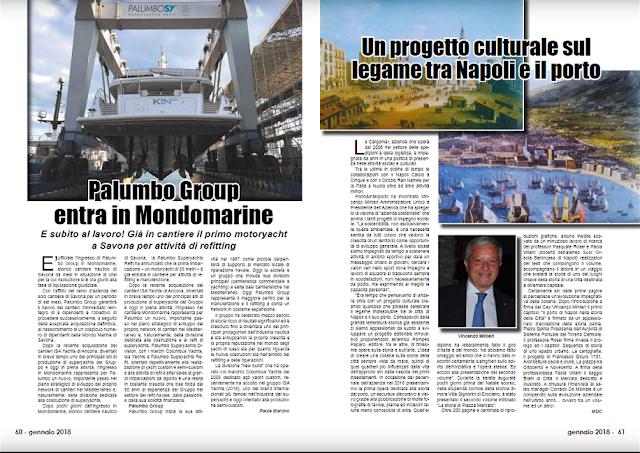 GEN 2018 PAG 59 Un progetto culturale sul legame tra Napoli e il porto
