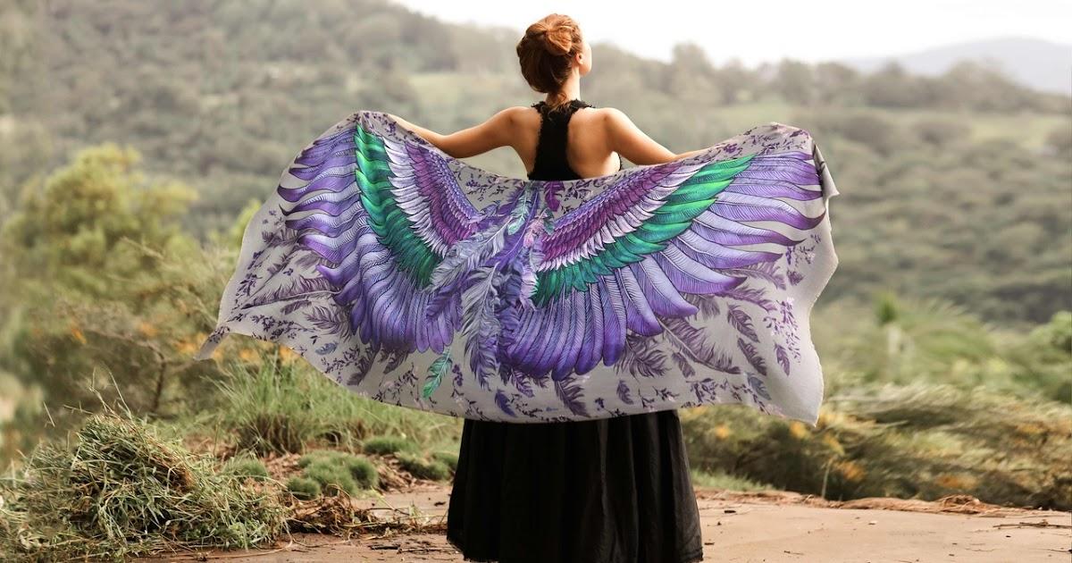 Эти красивые шарфы дадут вам крылья - Роза Хамитова (Roza Khamitova)