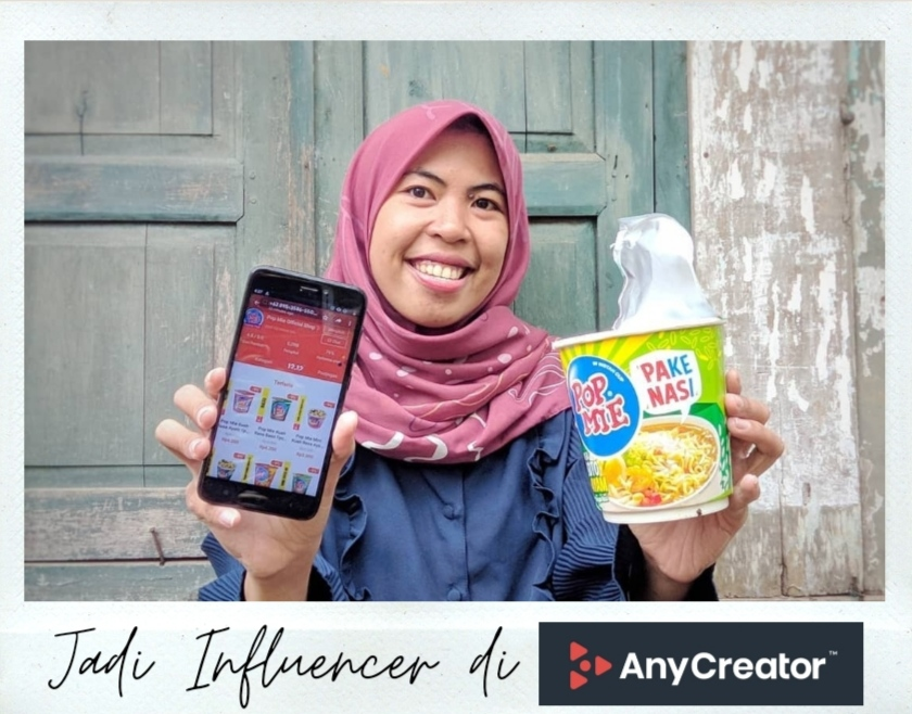 Jadi influencer di any creator