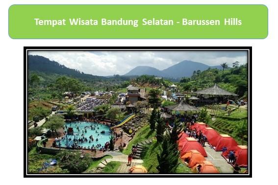 Tempat Wisata Bandung Selatan Barussen Hills